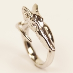 "Exklusiver Ring ""Windhund LILLY"